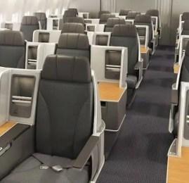 American Airlines apresenta sua nova classe Executiva nos B767-300