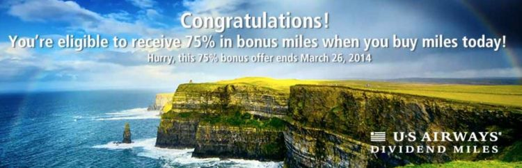 bonus buyy miles us airways