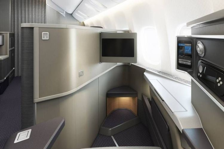 new aa business class 777-200 executiva