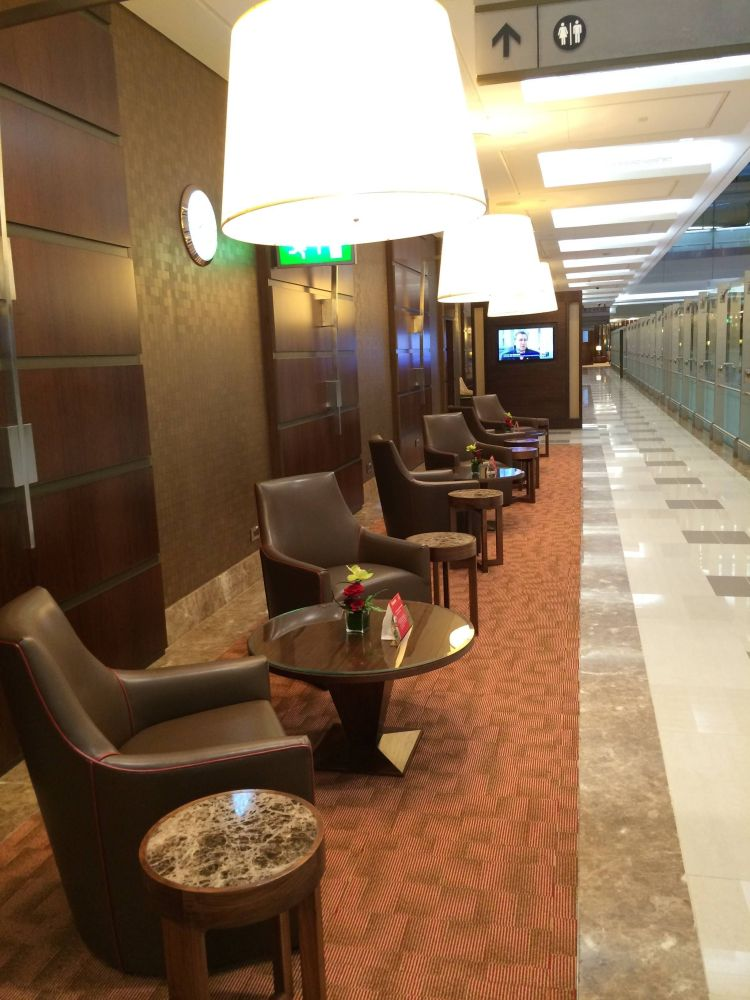 Emirates First Class Lounge Sala Vip Terminal 3