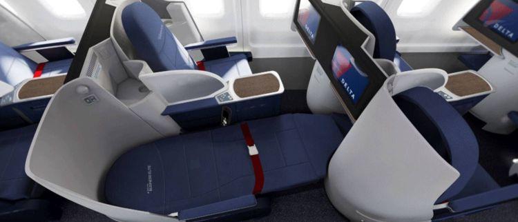 delta business class 757