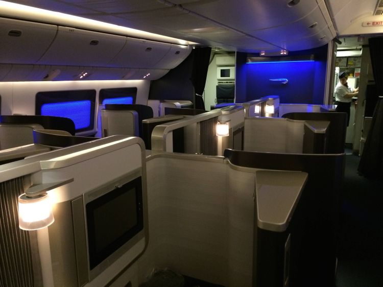 primeira classe da british airways no boeing 777300er
