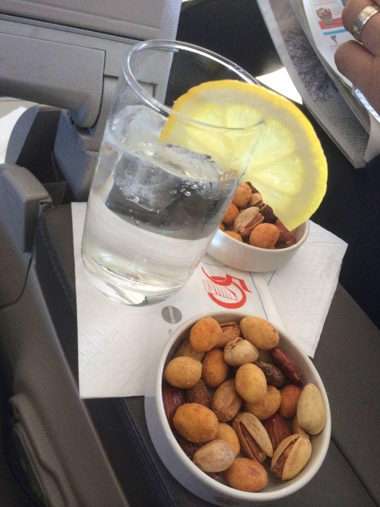 Royal Jordanian A320 Business Class