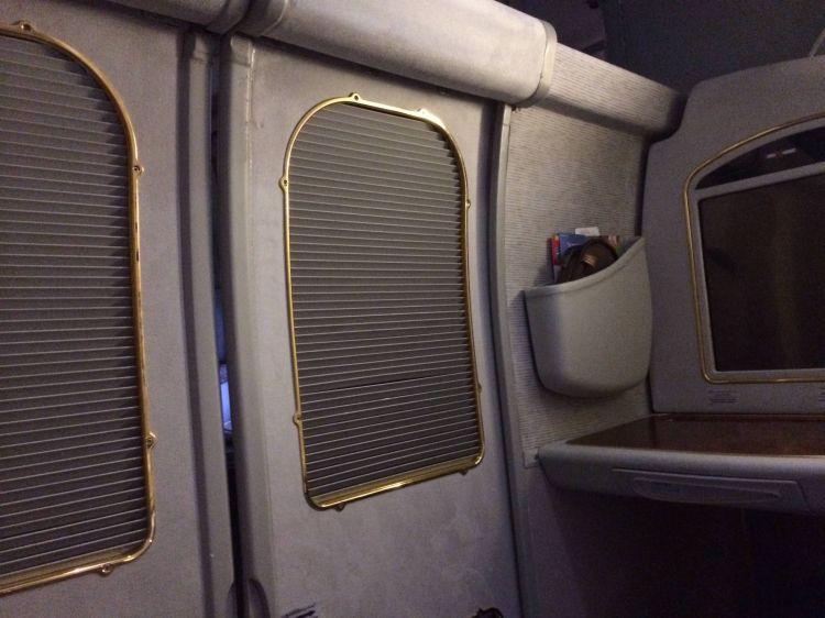 Emirates First Class Primeira Classe A340