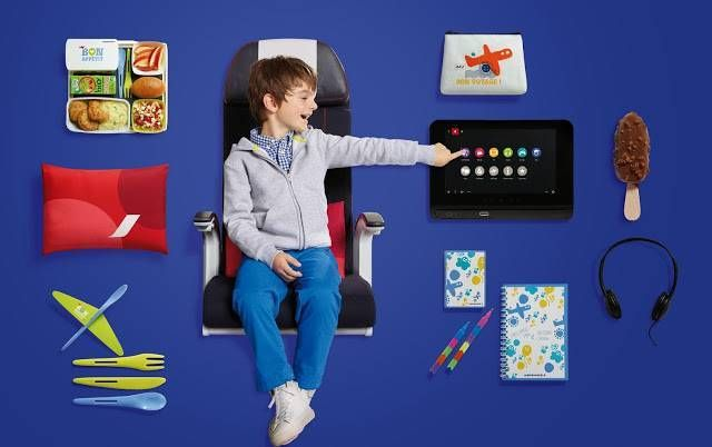 Air France New Economy kids