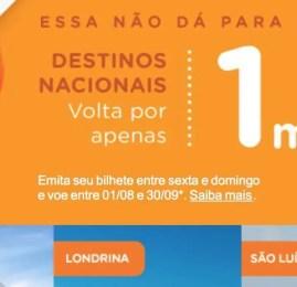 Promoção Smiles tem vôos por apenas 1 milha