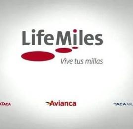 LifeMiles da Avianca reajusta sua tabela de resgate