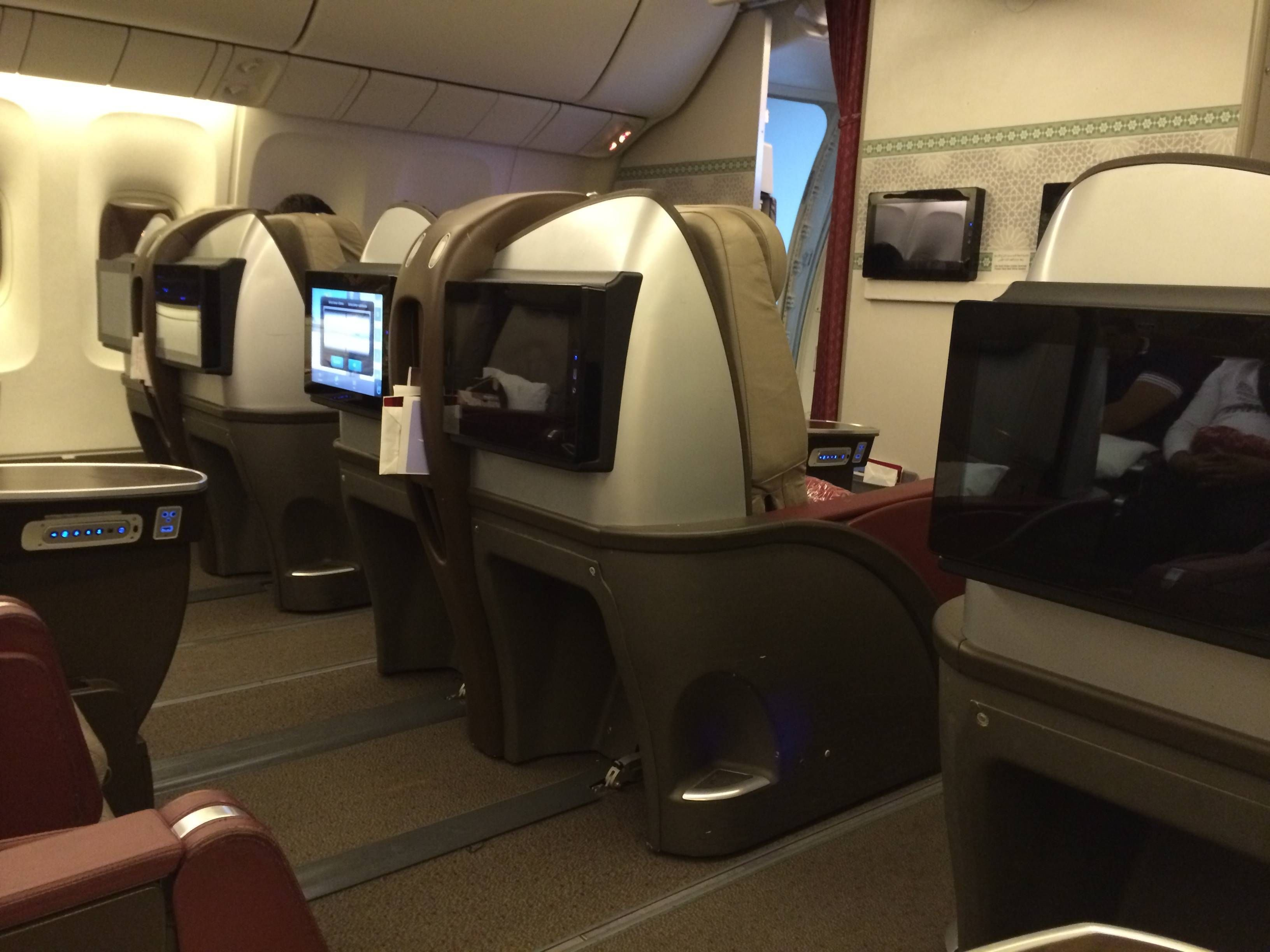 Royal Air Maroc Classe Executiva B767-300 Business Class