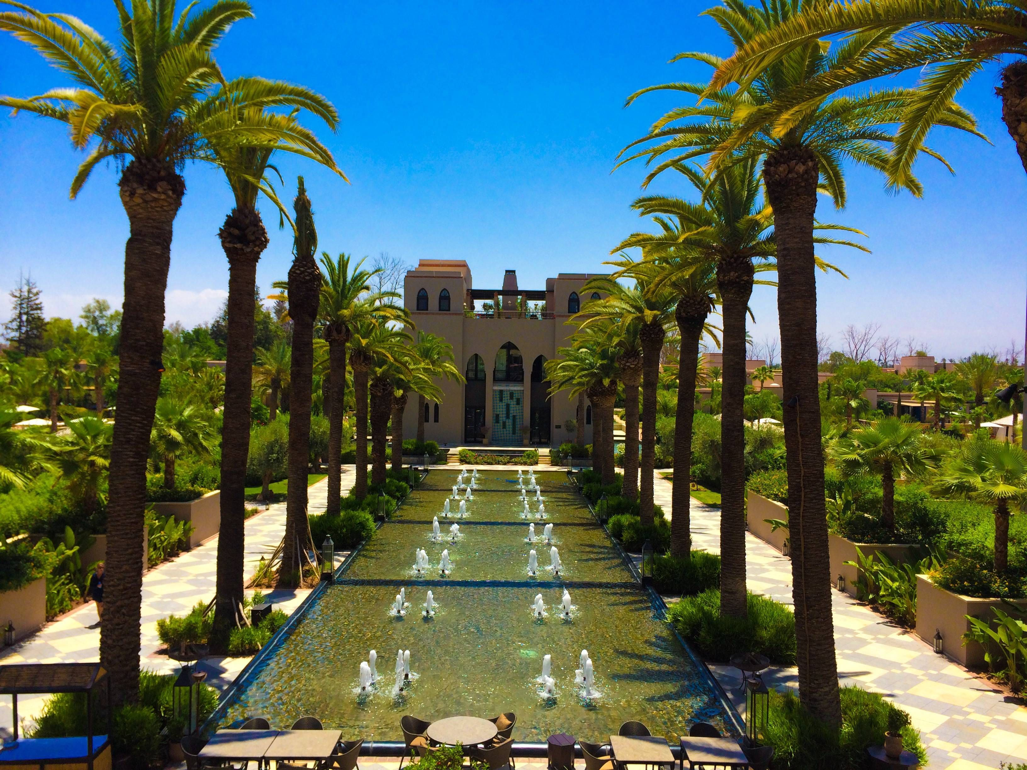 four seasons resort marrakech passageirodeprimeira