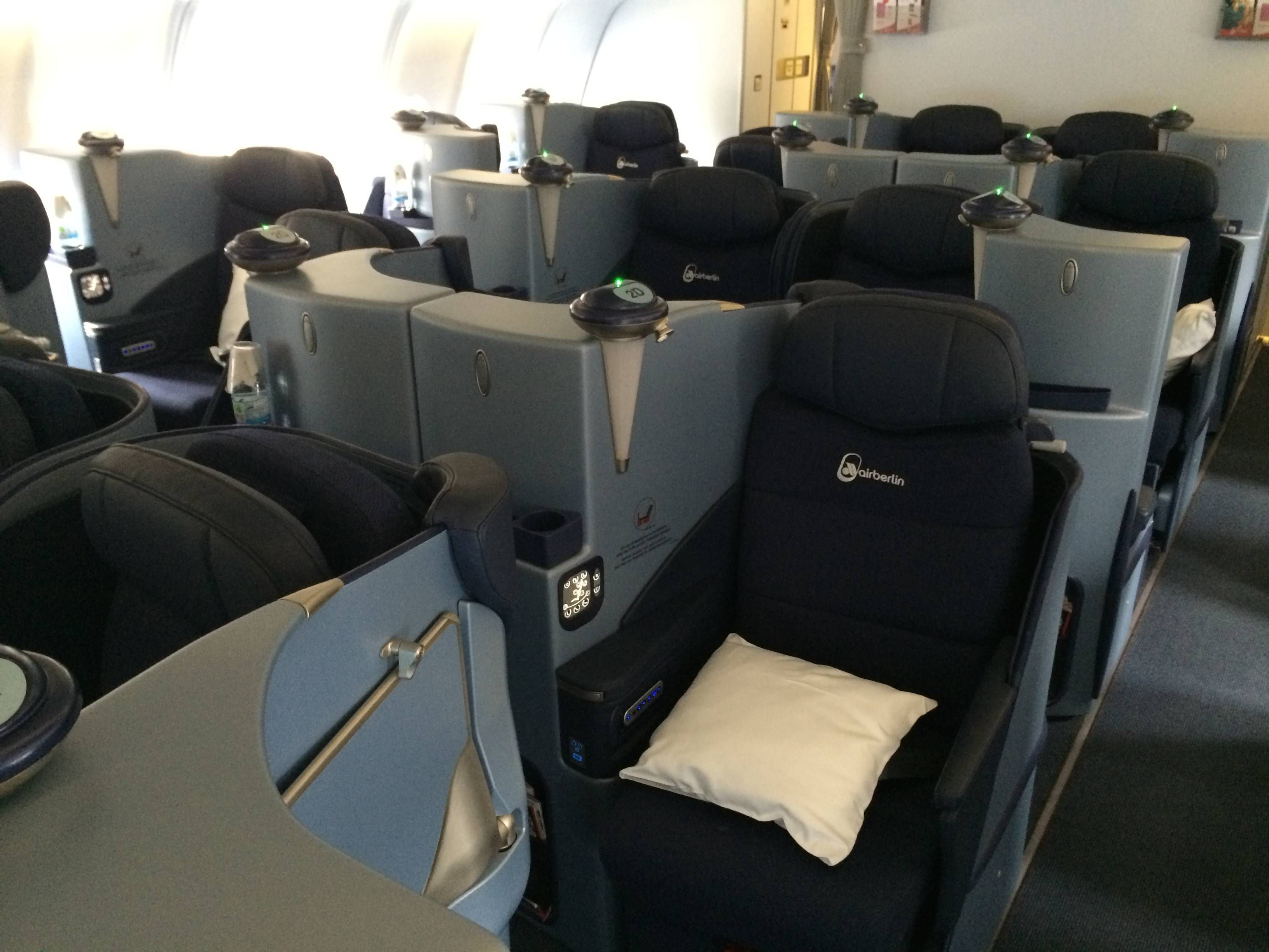 airberlin business class executiva a330 passageirodeprimeira
