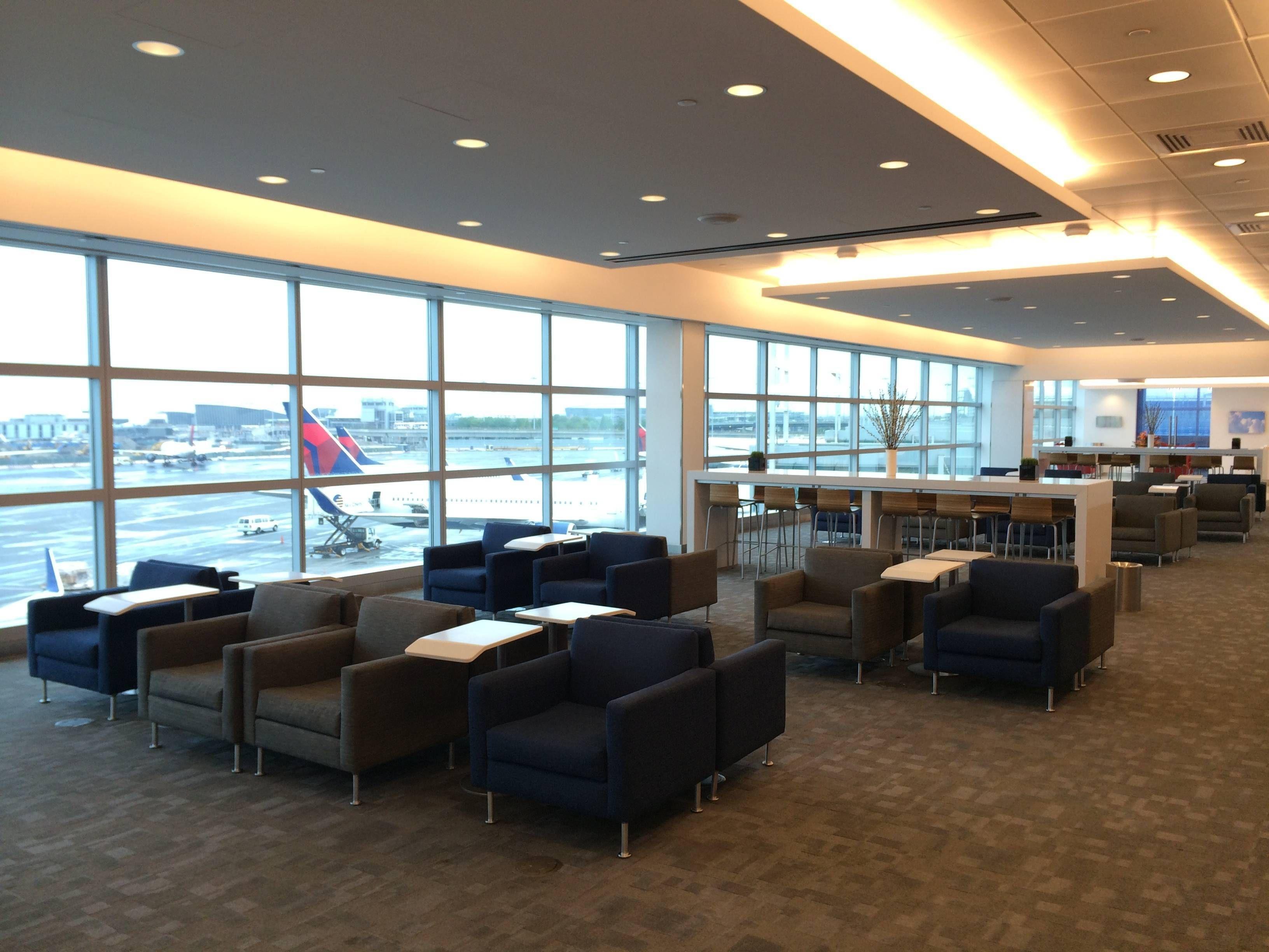 Delta Skyclub JFK sala vip passageirodeprimeira
