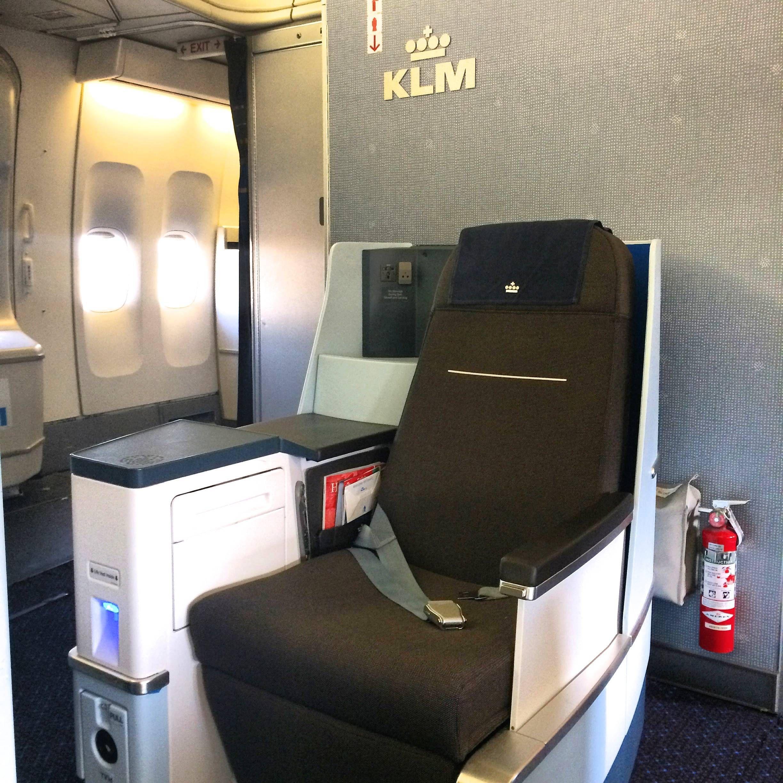 klm b747 classe executiva passageirodeprimeira business class