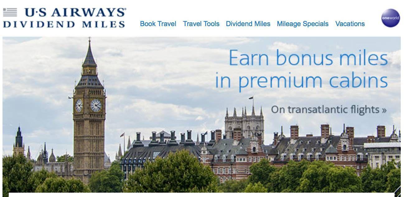 us airways promocao europa transaltlantica