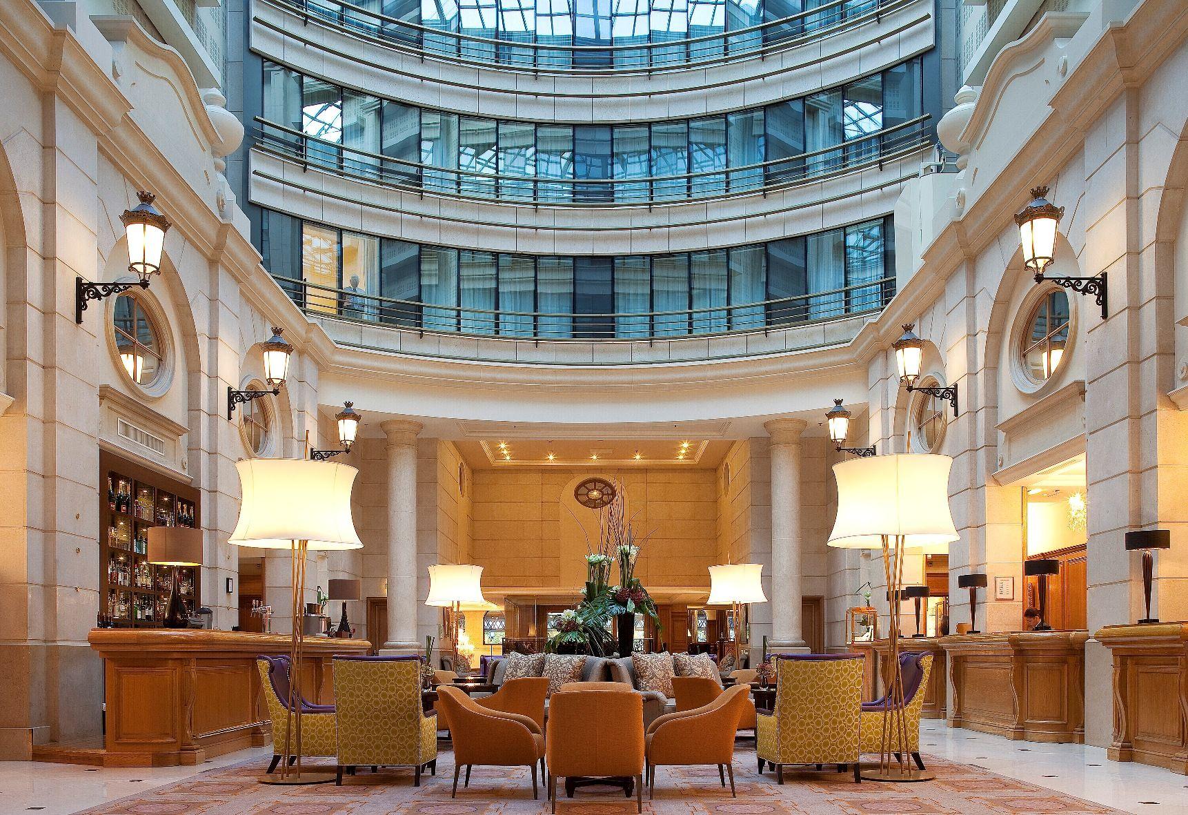 Lobby Paris Marriott Hotel Champs-Elysees