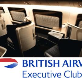 Conheça as vantagens do Executive Club, o programa de fidelidade da British Airways