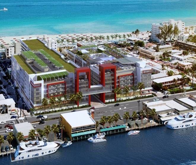 Renderizacao-aerea-do-Melia-Costa-Hollywood-Beach-Resort