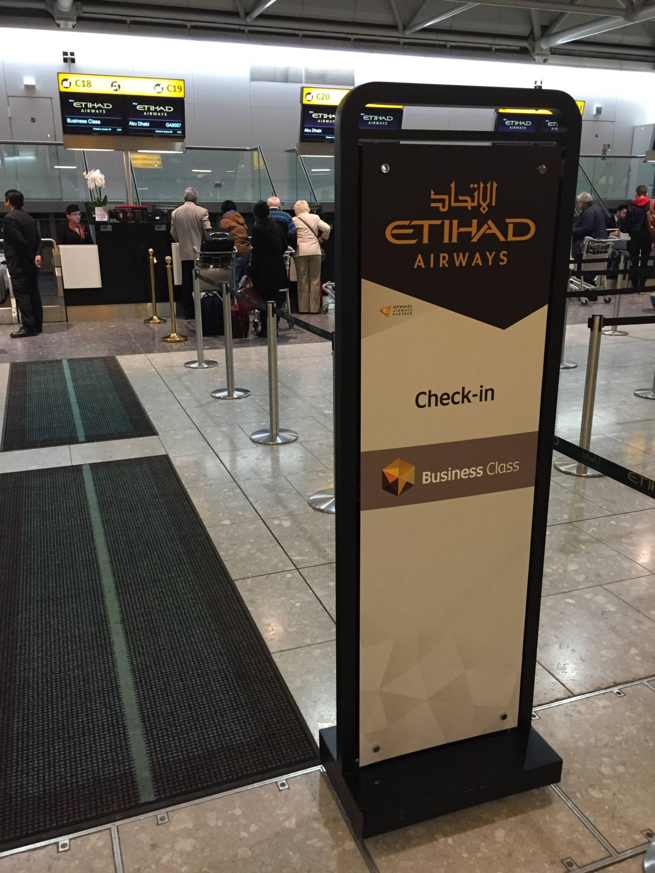 Etihad Lounge London Heathrow - Passageirodeprimeira 1