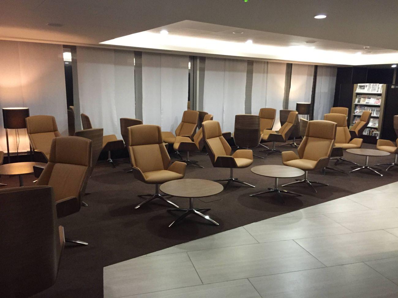 Etihad Lounge London Heathrow - Passageirodeprimeira 11