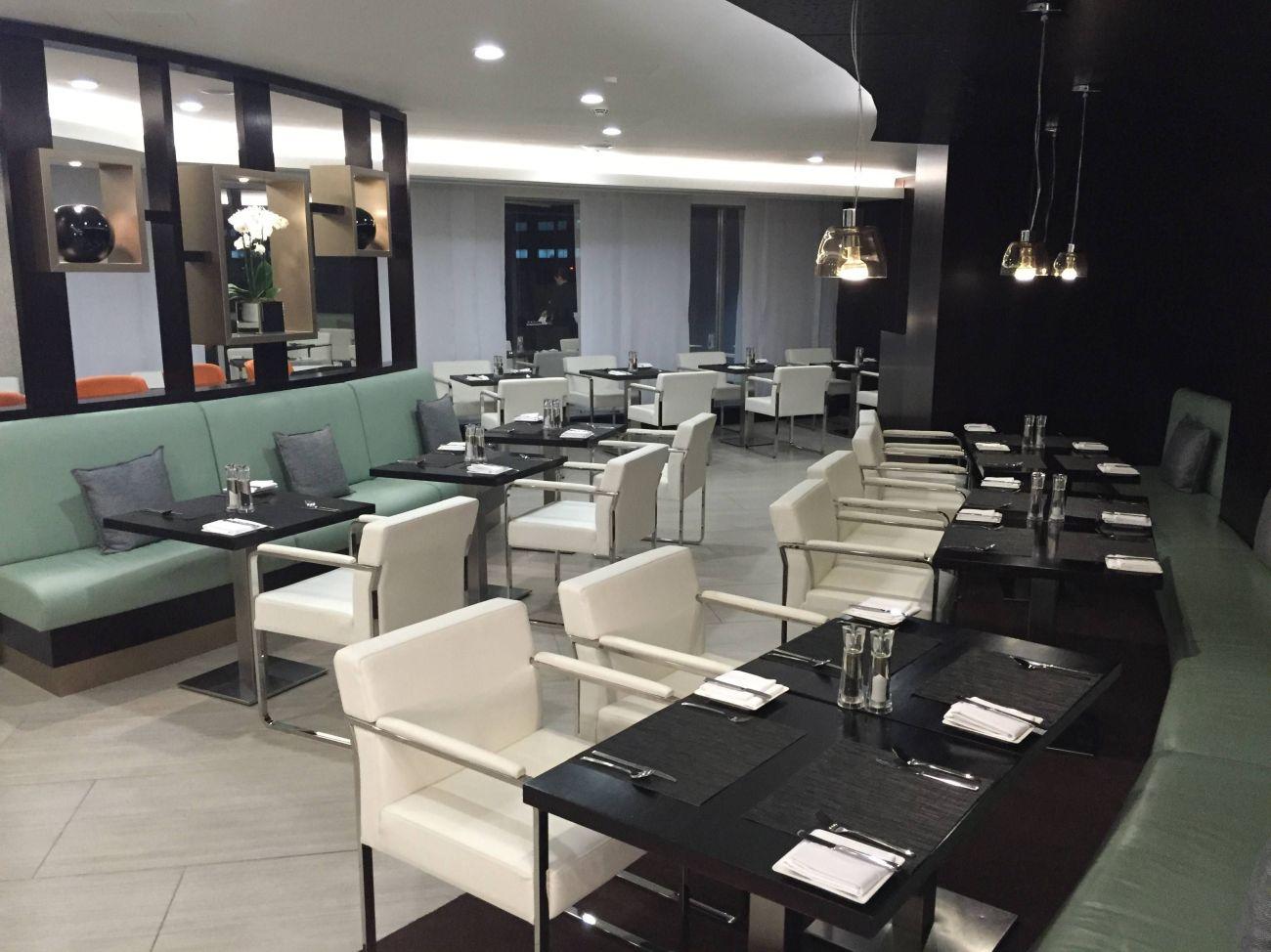 Etihad Lounge London Heathrow - Passageirodeprimeira 12