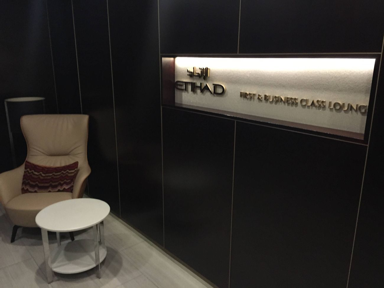Etihad Lounge London Heathrow - Passageirodeprimeira 4