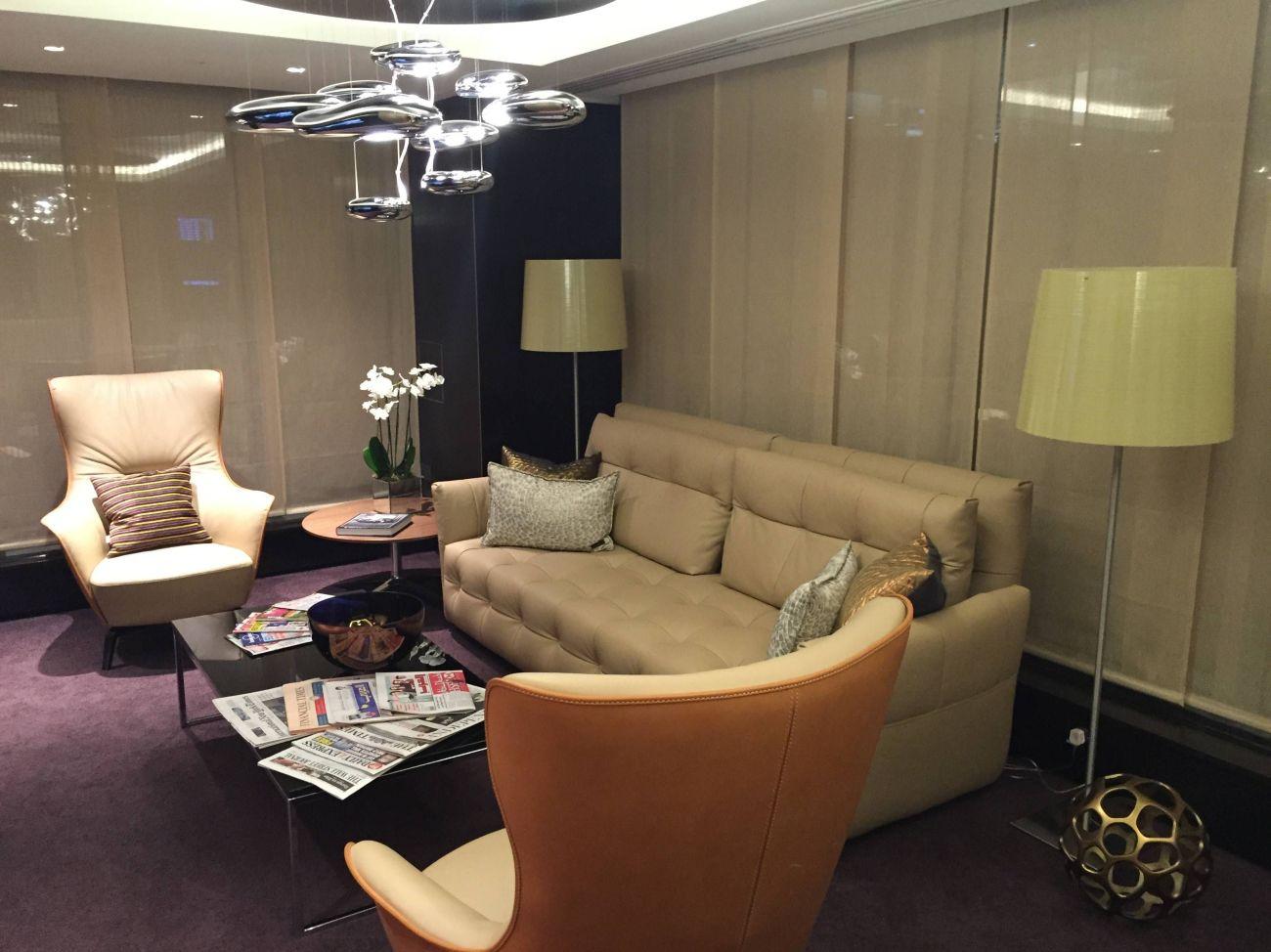 Etihad Lounge London Heathrow - Passageirodeprimeira 9