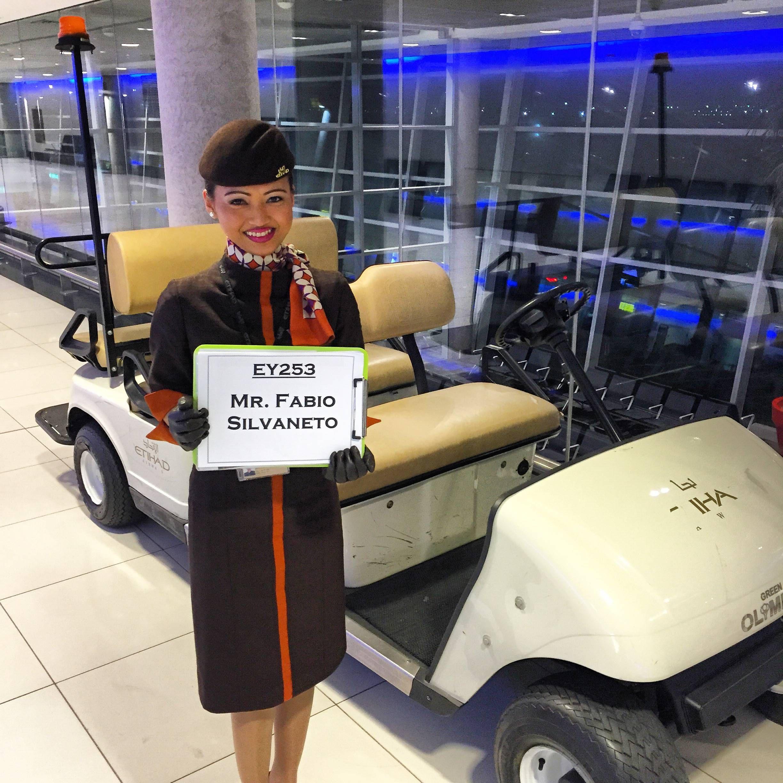 Etihad Premium Lounge Abu Dhabi - Passageiro de Primeira1