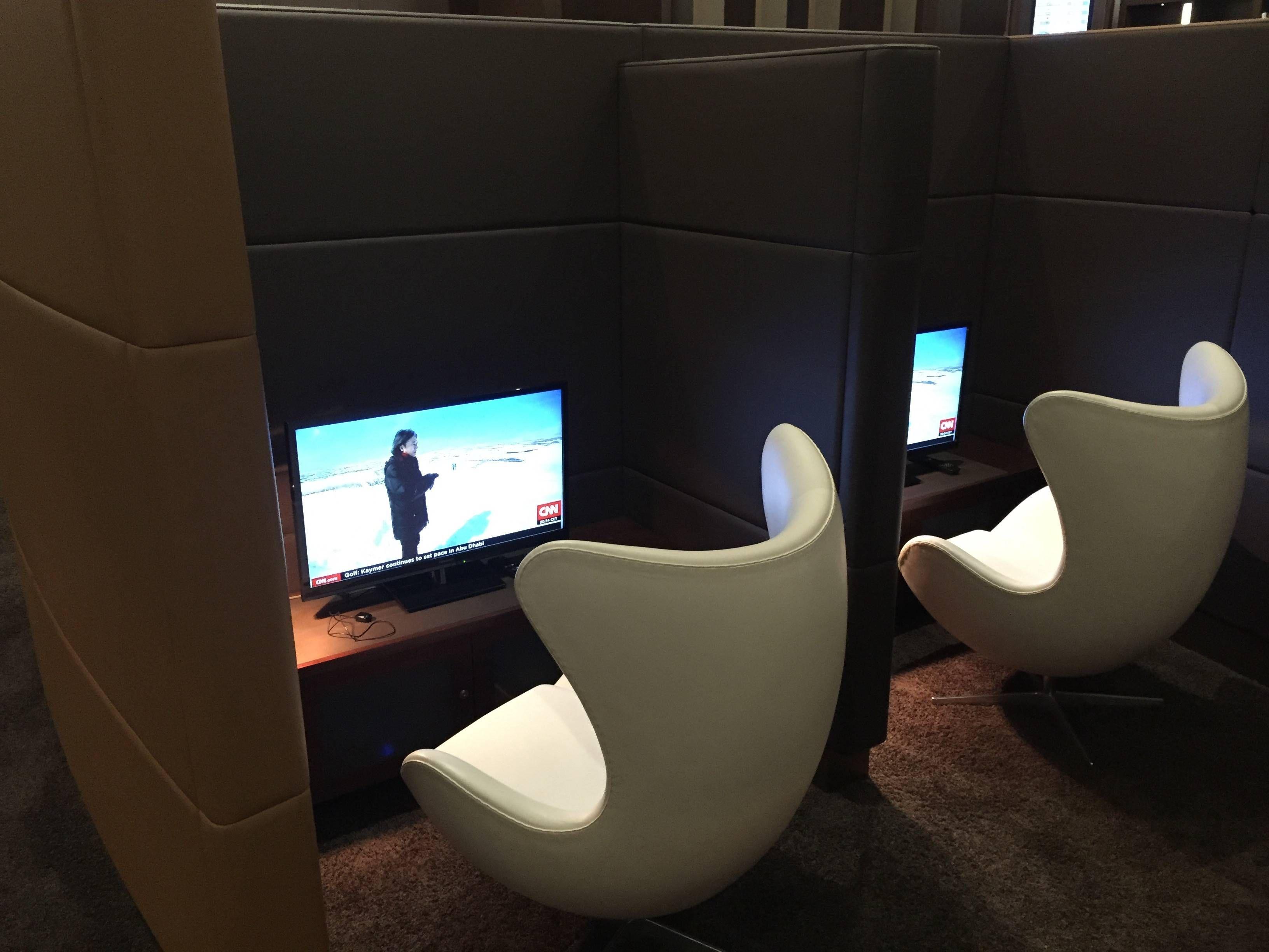 Etihad Premium Lounge Abu Dhabi - Passageiro de Primeira24