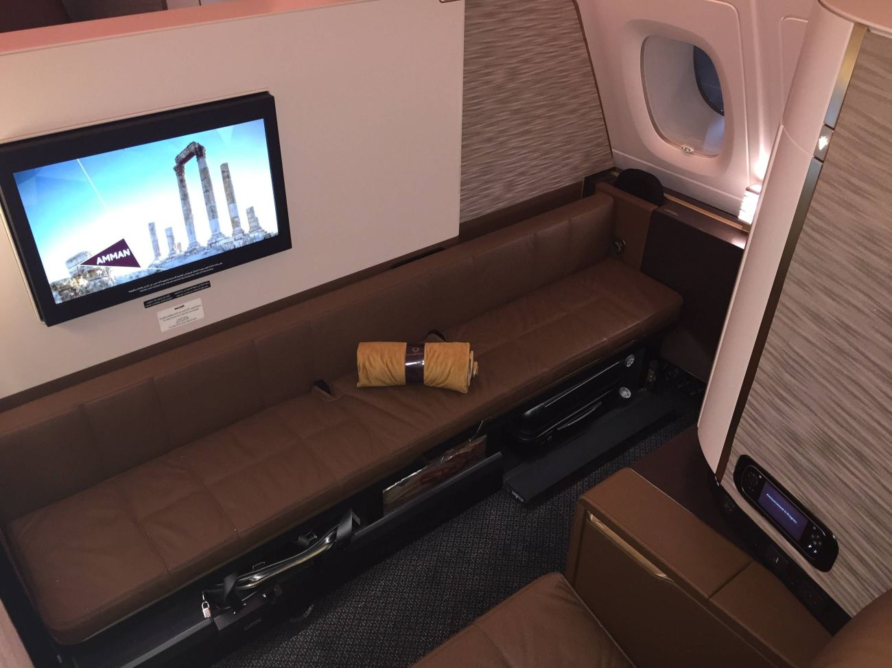 First Class Apartment A380 Etihad - PassageirodePrimeira10