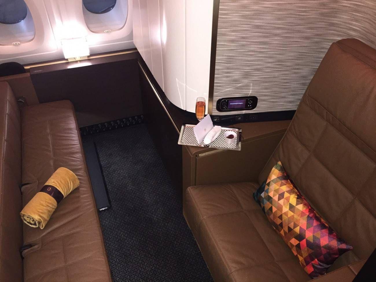First Class Apartment A380 Etihad - PassageirodePrimeira11