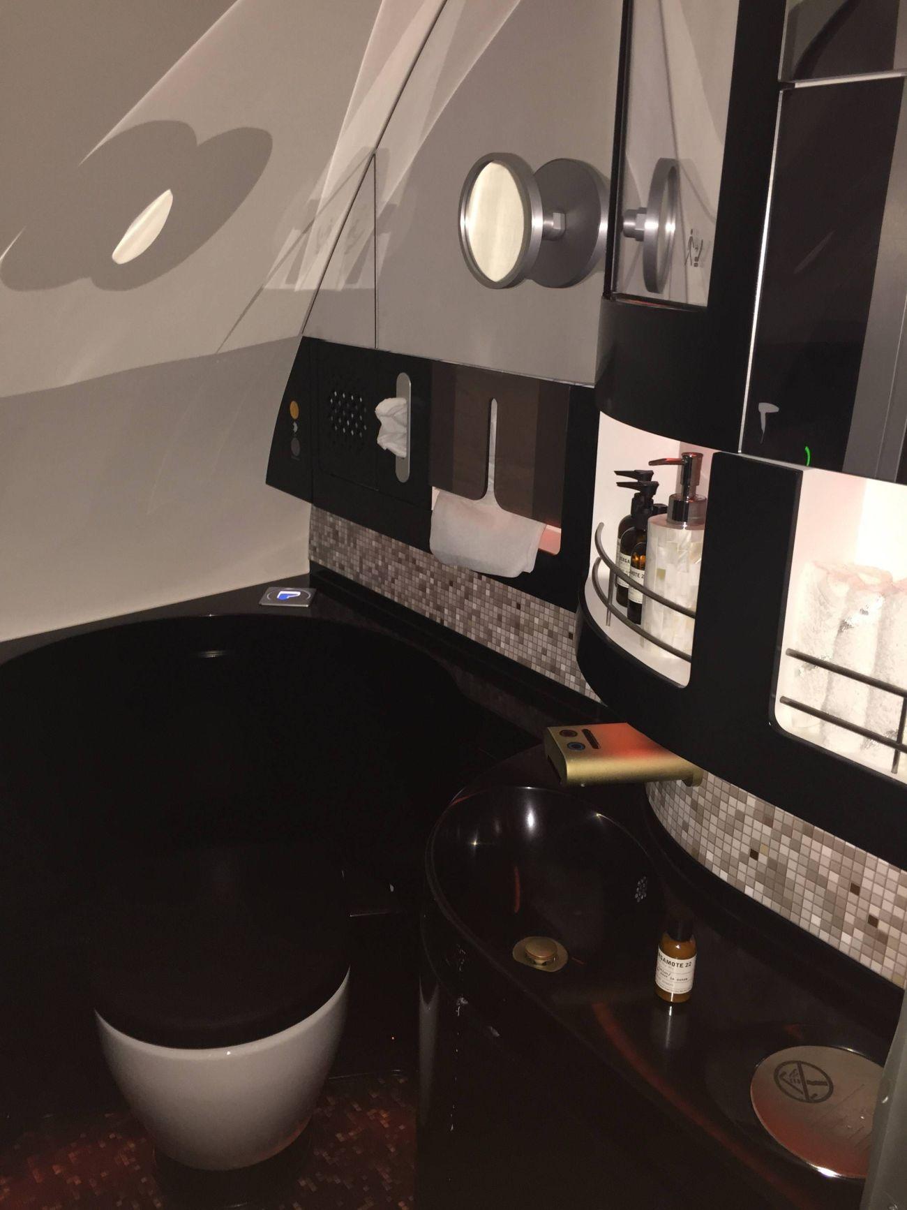 First Class Apartment A380 Etihad - PassageirodePrimeira53