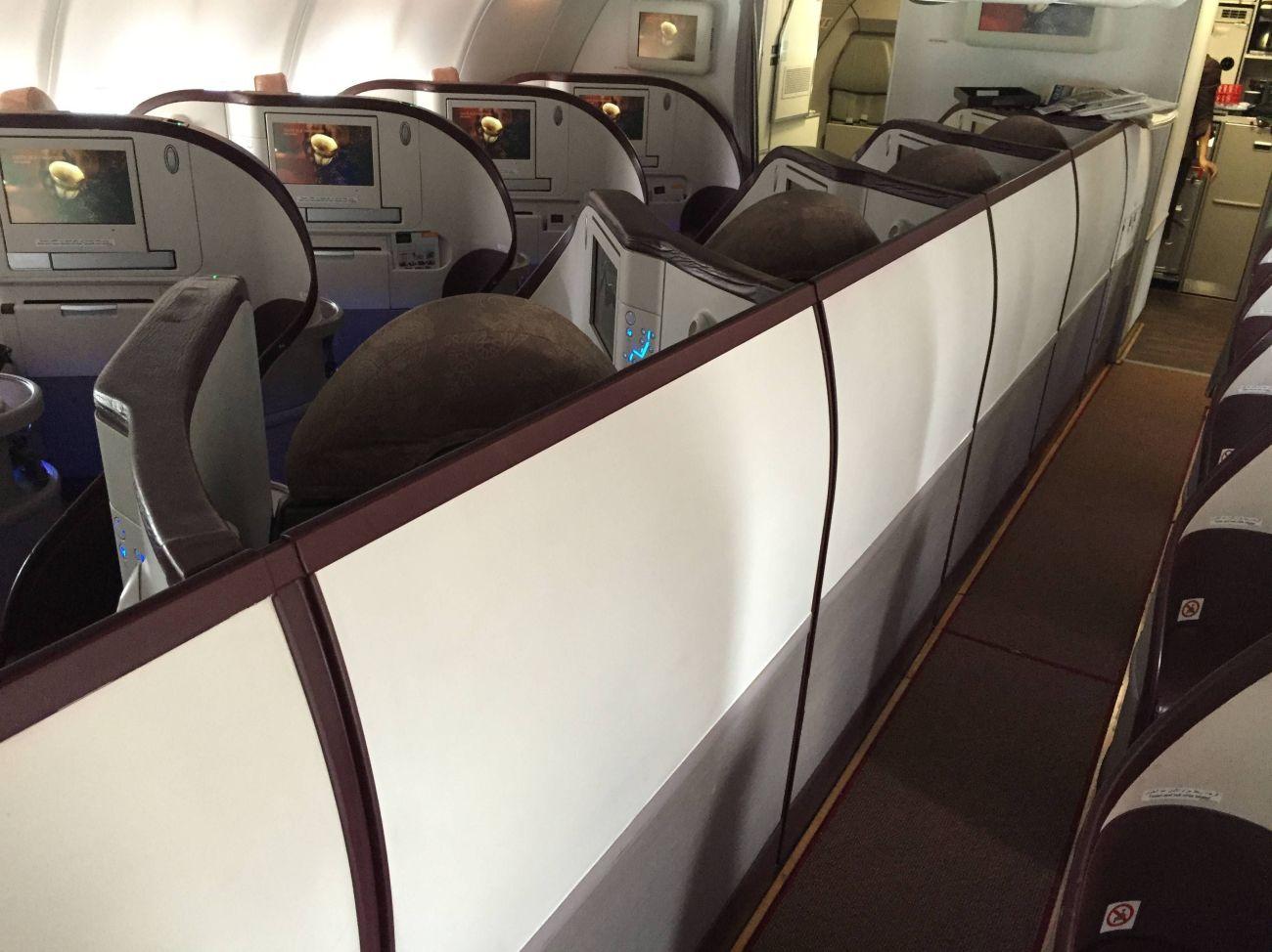 Jet Airways A330 Business Class Etihad Passageirodeprimeira -07