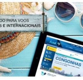 Azul oferece 10% de desconto nas passagens para quem comprar via PayPal