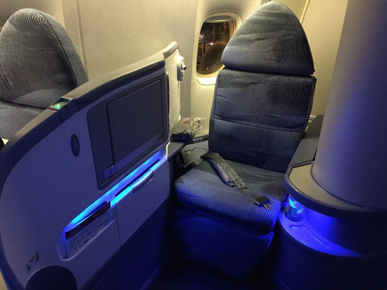 Air Canada B777 Business Class-04