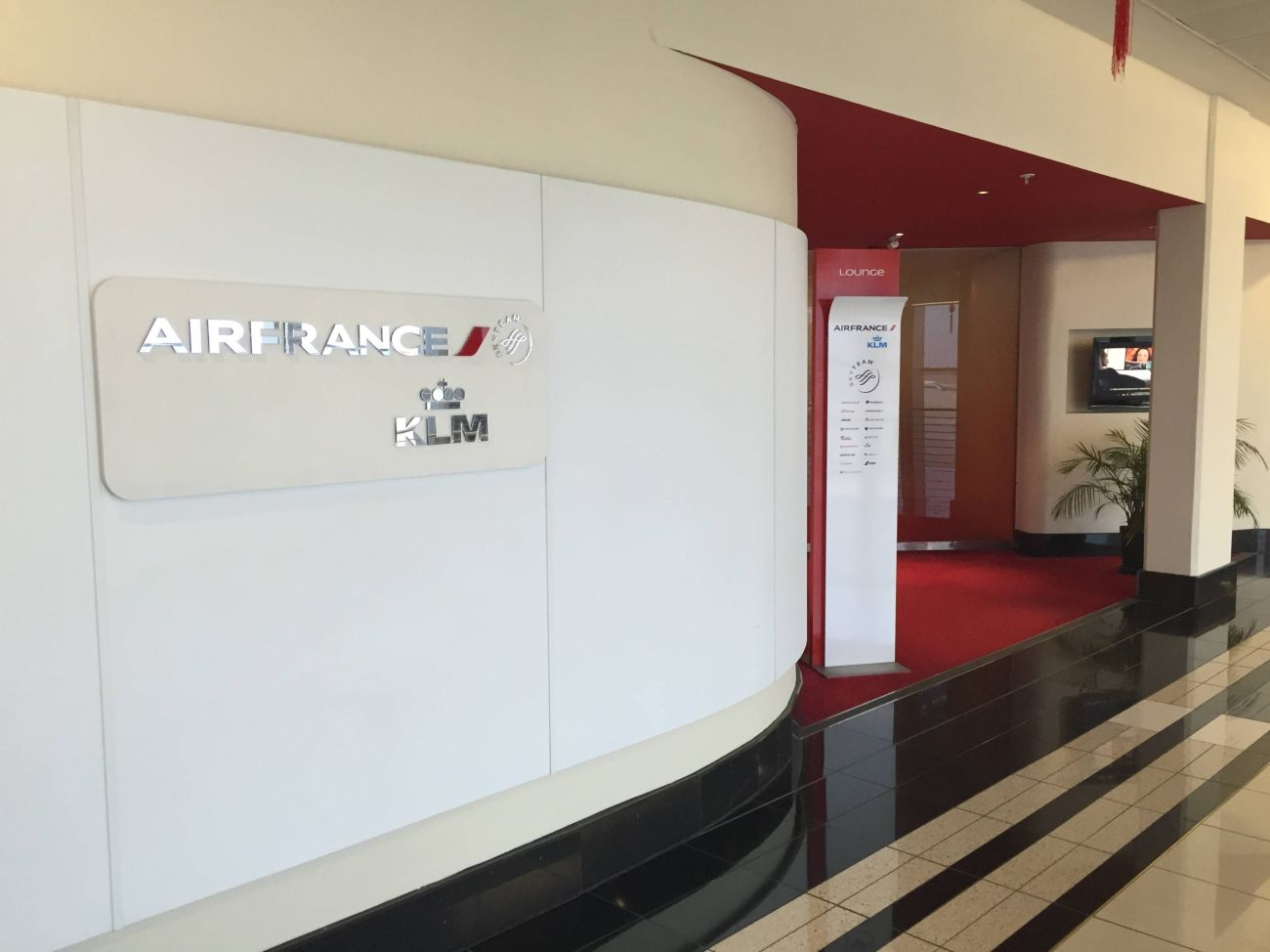 Air France KLM Lounge Johannesburg - 03