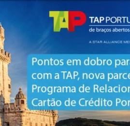 Cartões Porto Seguro adiciona TAP como parceira e oferece 100% de bônus nas transferências