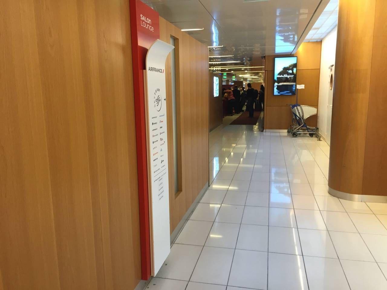 Air France Lounge Paris Terminal 2E-017