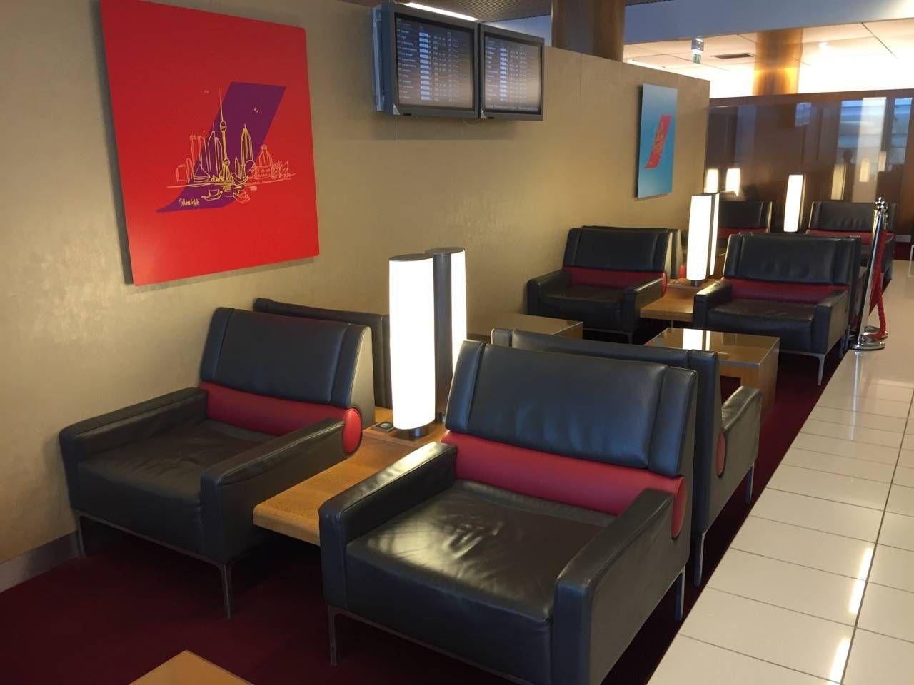 Air France Lounge Paris Terminal 2E-06