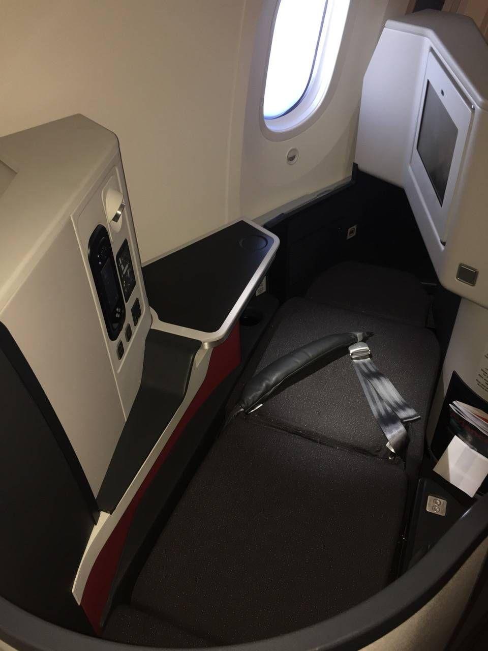 Avianca B787 Classe Executiva Business class-029