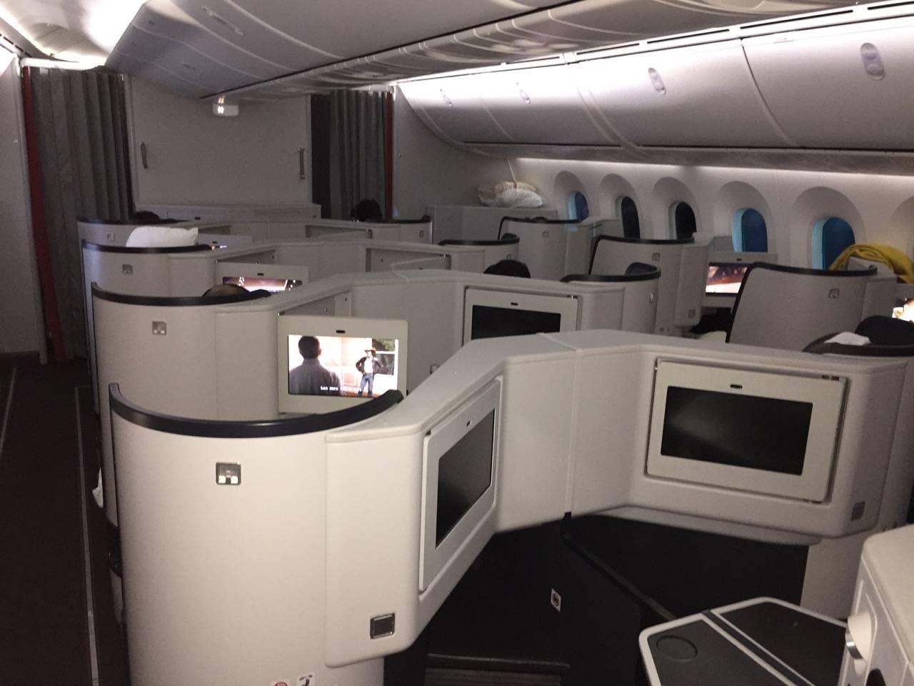 Avianca B787 Classe Executiva Business class-037