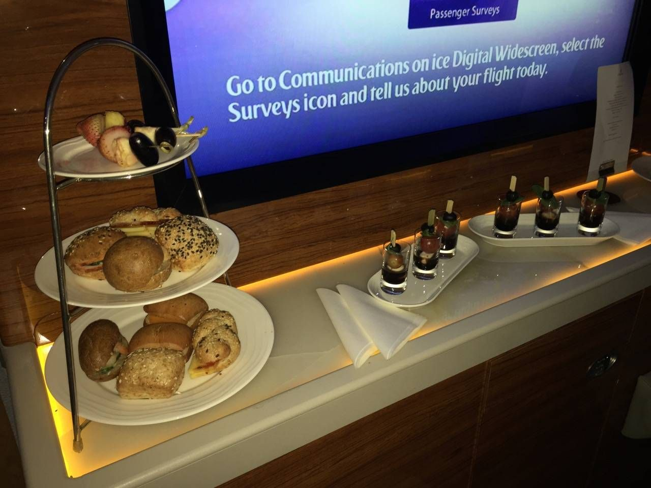 Emirates First Class A380 DXB-DFW-060
