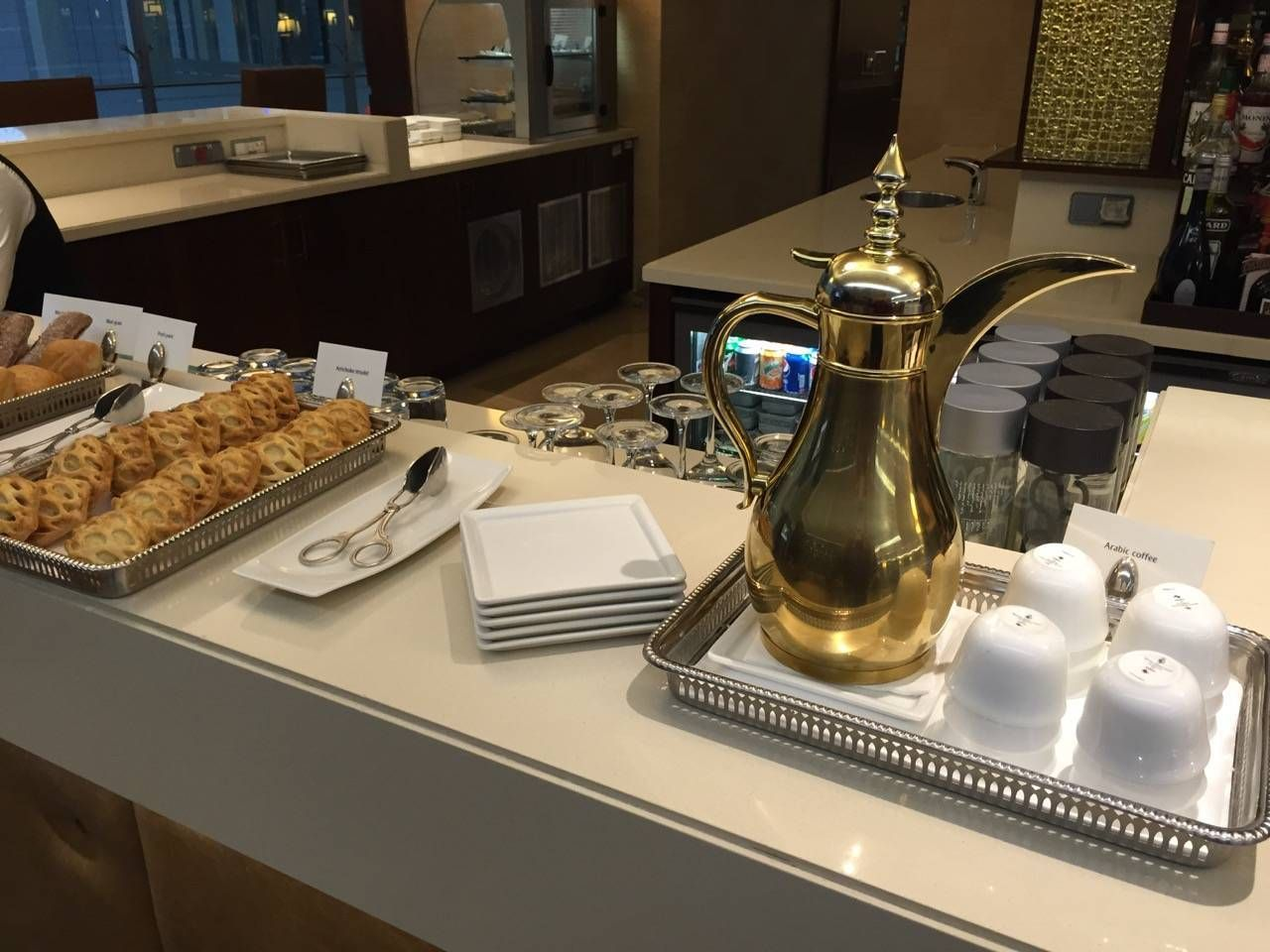 Emirates First Class Lounge Dubai -025