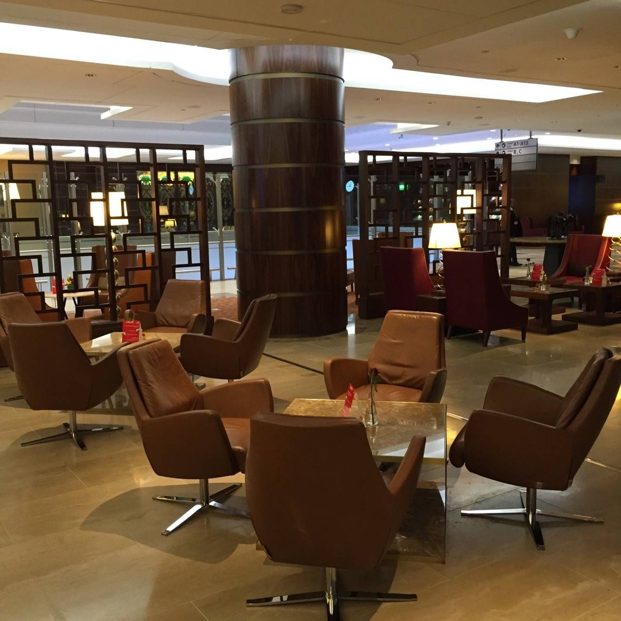 Emirates First Class Lounge Dubai -030