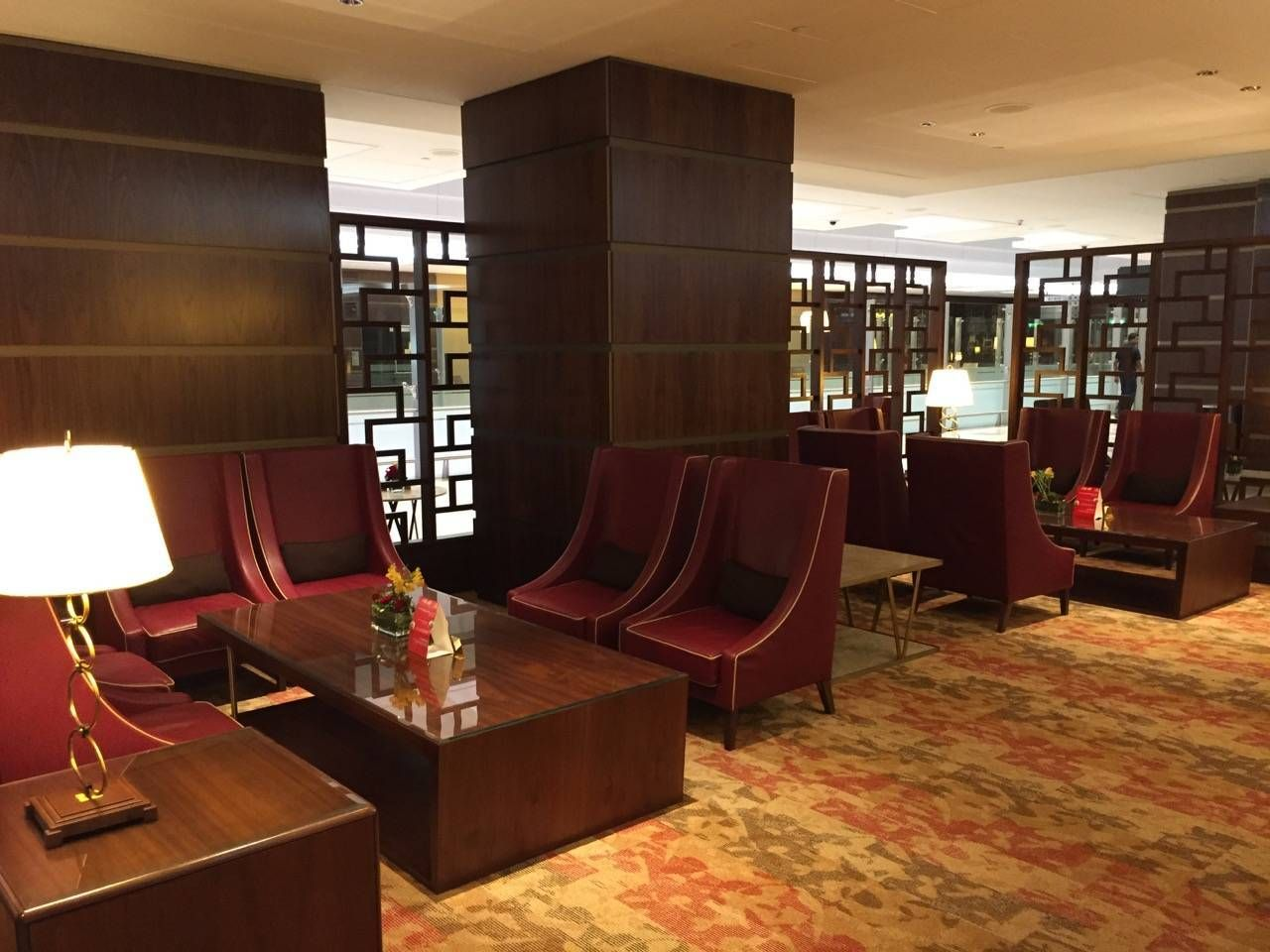 Emirates First Class Lounge Dubai -034
