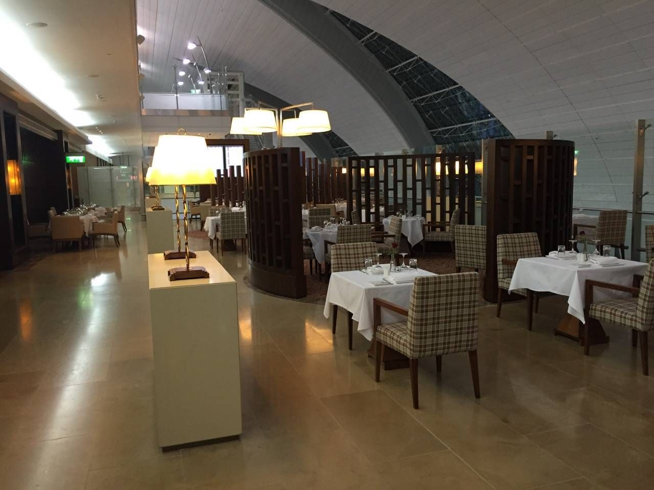 Emirates First Class Lounge Dubai -048