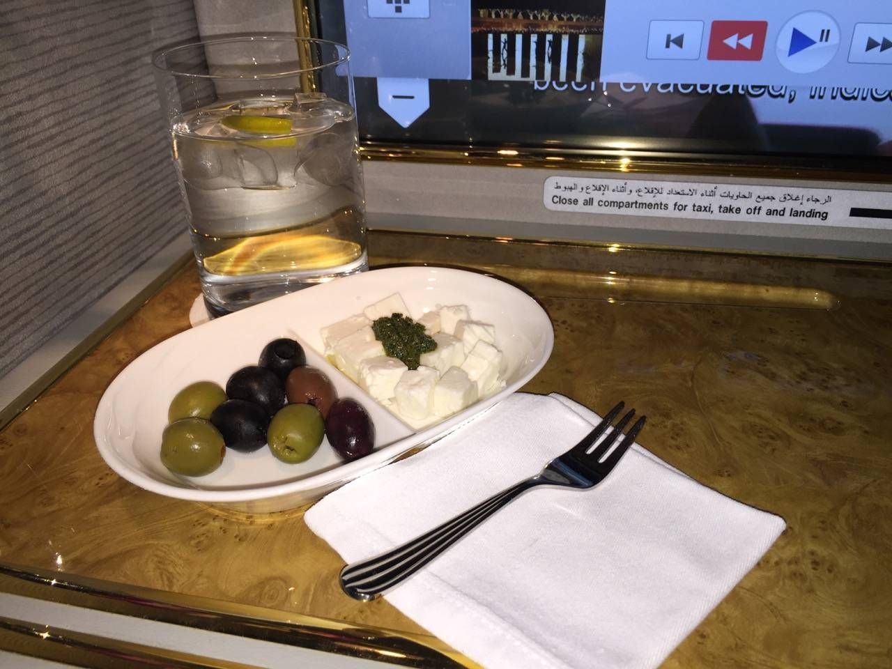 Emirates First Class PVG-DXB-056