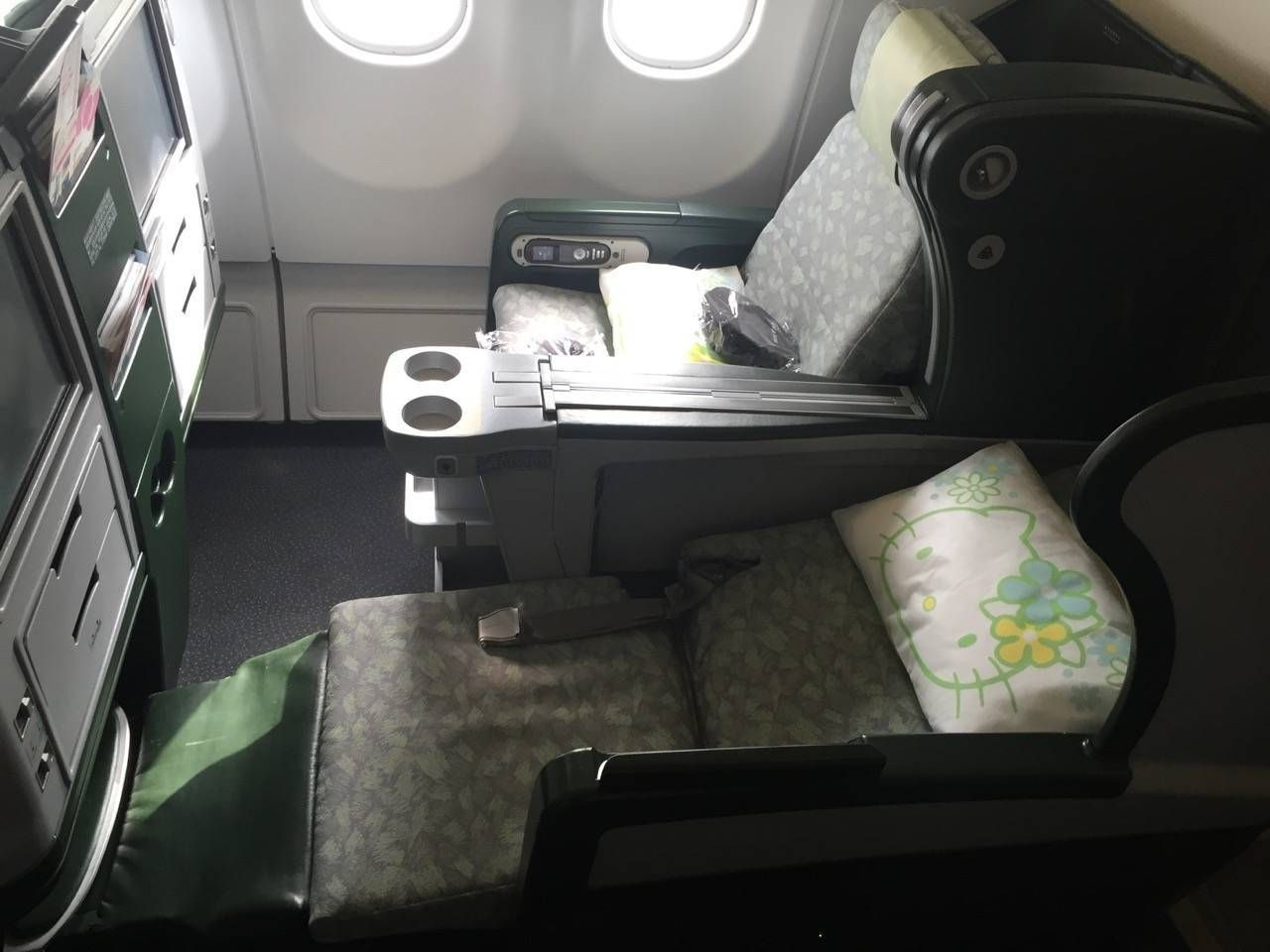 Eva Air A330 Business Class Royal Lauren-017