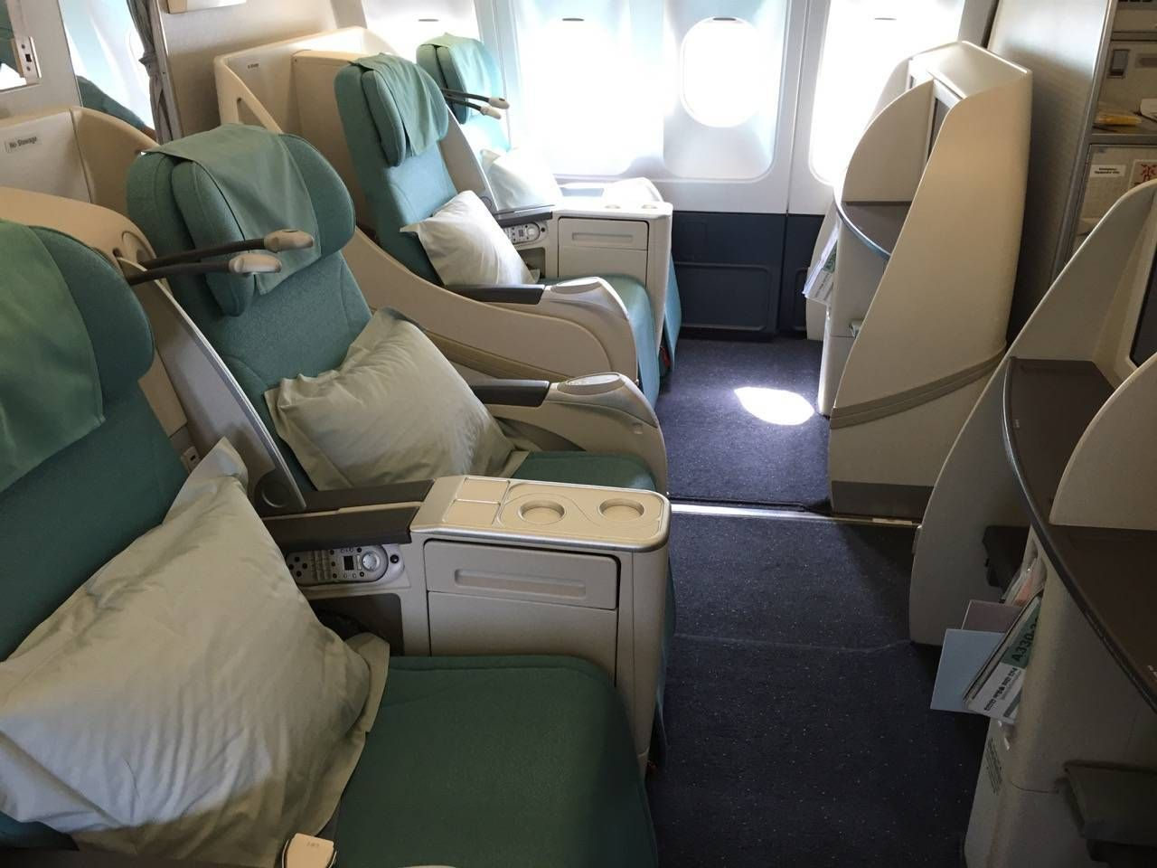 Korean Air First Class A330-02