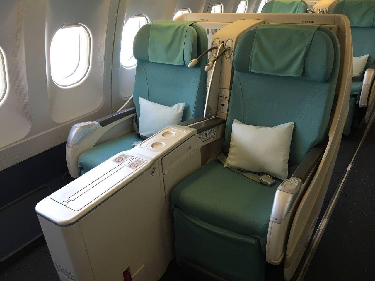 Korean Air First Class A330-03