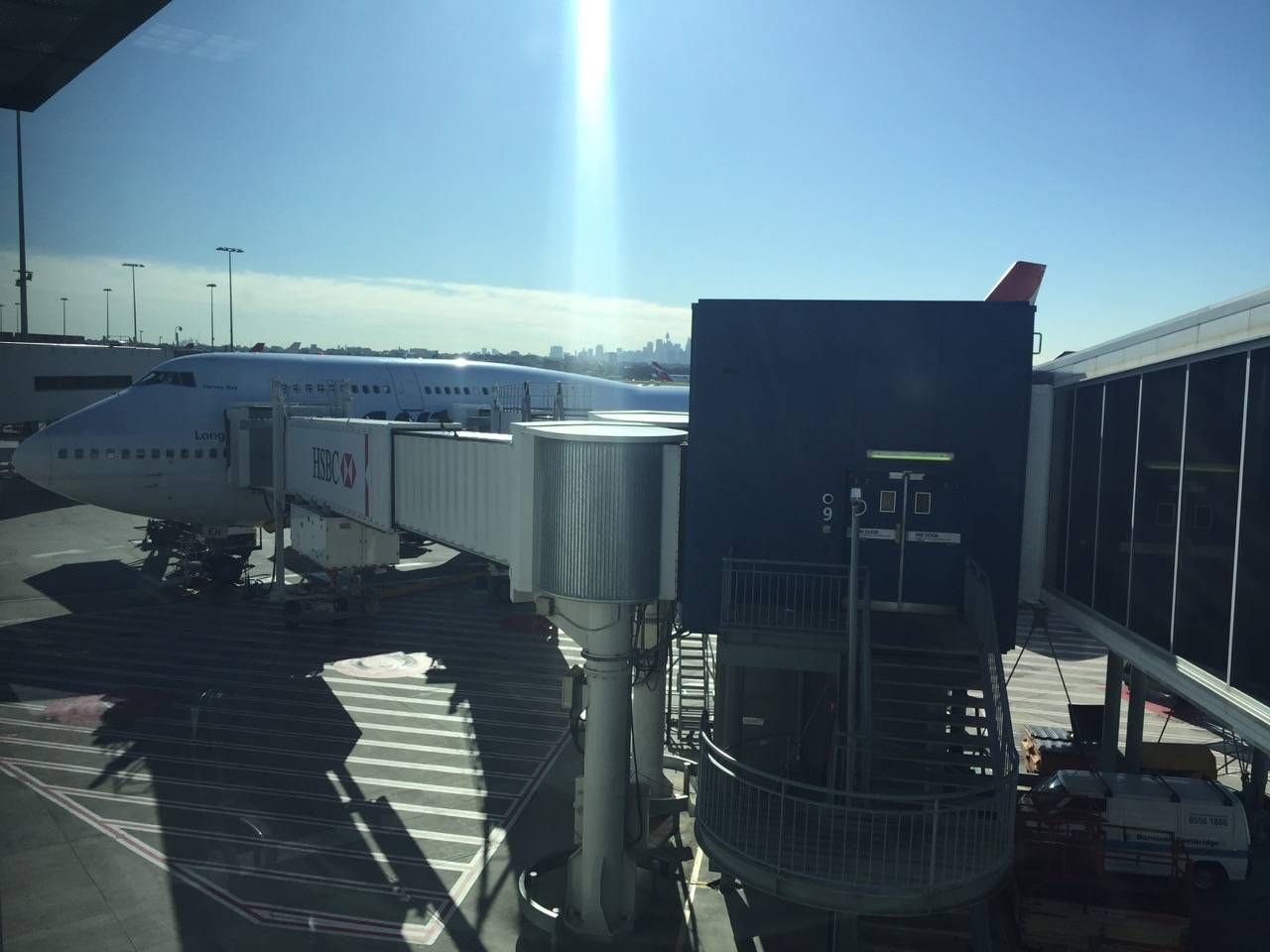 Qantas B747 Business Class-01