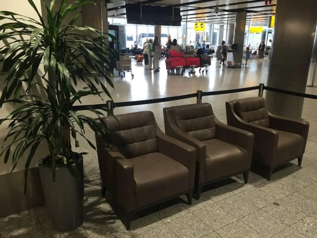 British Airways Galleries Lounge T3-013